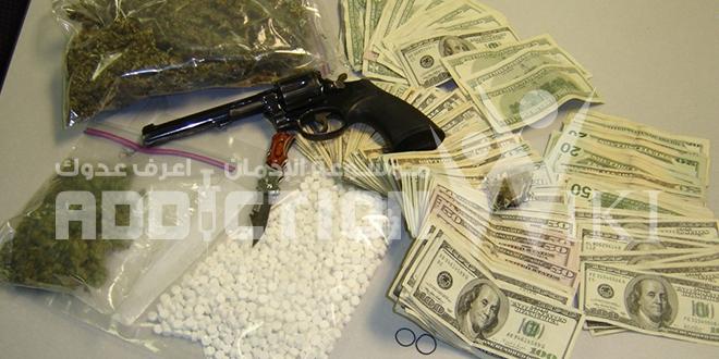 تهريب المخدرات