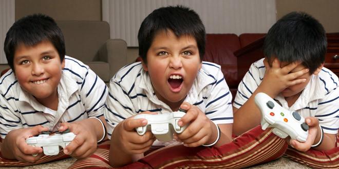 الادمان على الألعاب الالكترونية