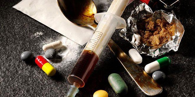 الأعراض المختلفة للمخدرات